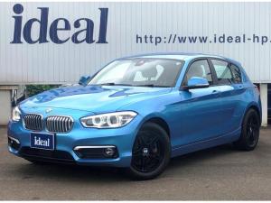 BMW 1シリーズ 118d ファッショニスタ インテリセーフ 茶革シート 純正HDDナビ LEDライト バックカメラ ACC 純正17AW シートヒーター ETC ミュージックサーバー Bluetooth接続