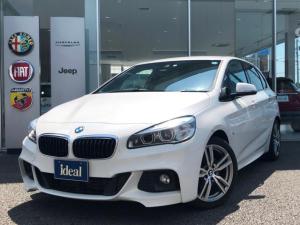 BMW 2シリーズ 218iアクティブツアラー Mスポーツ LEDヘッドライト HDDナビ バックカメラ アイドリングS スマートキー オートライト レーンアシスト 衝突軽減システム ETC