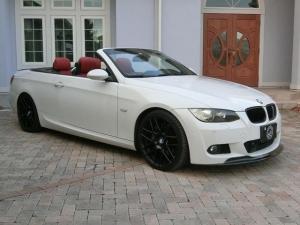 BMW 3シリーズ 335iカブリオレ MスポーツPKG 19AW 赤革シート