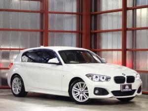 BMW 1シリーズ 118i Mスポーツ 後期 純正ナビ 本革 AW付冬タイヤ有