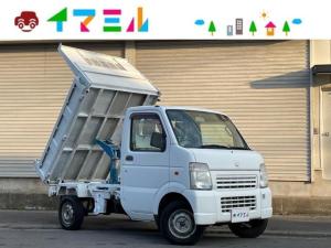 スズキ キャリイトラック 頑丈ダンプ ワンオーナー ダンプ 切替4WD