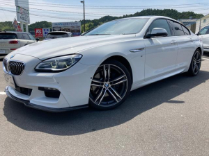 BMW 6シリーズ 640iグランクーペ Mスポーツ 認定中古車360度カメラ白革ガラスルーフ