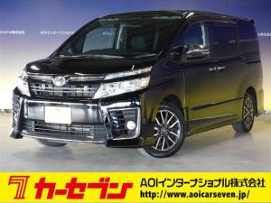 トヨタ ヴォクシー ZS 煌 9型ナビ/後席モニタ/両側パワスラ/バックカメラ