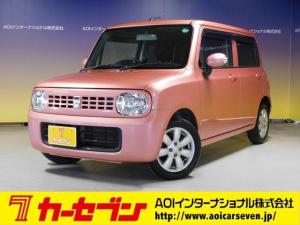 スズキ アルトラパン X CDオーディオ プッシュスタート  ユーザー買取車