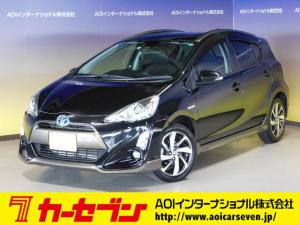 トヨタ アクア X-アーバン トヨタセーフティセンス LEDライト