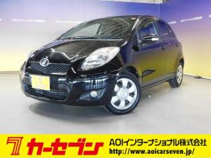 トヨタ ヴィッツ U HIDヘッドライト シートヒーター スマートキー プッシュスタート ETC CD AUX