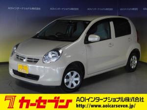 トヨタ パッソ X 4WD 純正メモリナビ ワンセグ CD キーレス