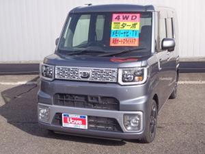 ダイハツ ウェイク 660 G SA 4WD メモリーナビ ワンセグ ABS