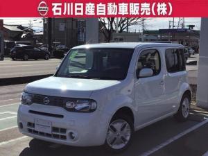日産 キューブ 1.5 15X Vセレクション 当社試乗車