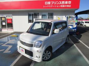 日産 モコ 660 G エアロスタイル ターボ車 純正メモリーナビ