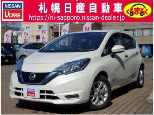 日産 ノート 1.2 e-POWER X 試乗車UP エマブレ VDC