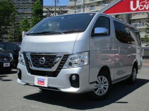 日産 NV350キャラバンバン ロングボディ 当社試乗展示車/純正Mナビ/アラウンドM