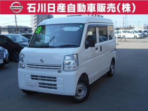 日産 NV100クリッパーバン 660 DX ハイルーフ 5AGS車 4WD 登録済未使用車 純正ラジオ