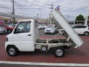 日産 クリッパートラック 660 DXエアコン付 4WD 特装車ダンプ 車検整備2年付