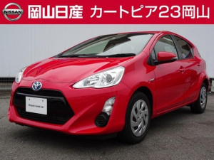 トヨタ アクア 1.5 S ブルーレイ対応ナビ