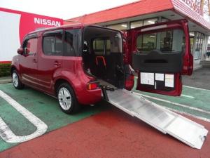 日産 キューブ 1.5 15X チェアキャブ スロープタイプ サイドシートタイプ オーテック 福祉車両