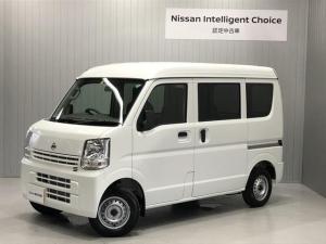 日産 NV100クリッパーバン 660 DX ハイルーフ 5AGS車 4WD 純正CDオーディオ&ETC