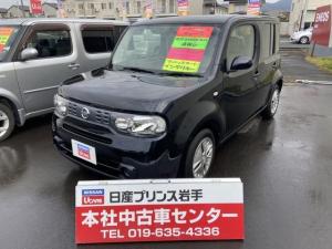 日産 キューブ 15X FOUR 1.5 15X FOUR 4WD /メモリーナビ/ETC