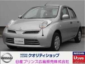 日産 マーチ 12S 5MT CD ワンオーナー 禁煙車
