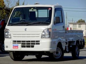スズキ キャリイトラック 660 KCエアコン・パワステ 3方開 4WD 5MT ワンオーナー