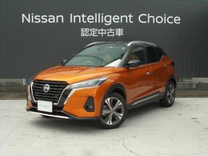 日産 キックス 1.2 X ツートーン インテリアエディション (e-POWER) 元社有車