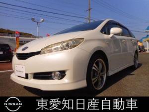 トヨタ ウィッシュ 1.8X フルセグ メモリナビ ETC
