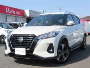 日産 キックス X ツートーンインテリアエディション 試乗車UP