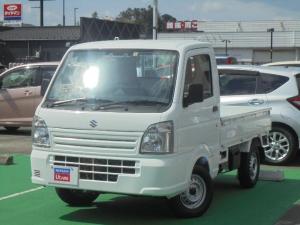 スズキ キャリイトラック 660 KCエアコン・パワステ スズキ セーフティサポート 装着車 3方開 4WD 衝突軽減ブレーキ 4WD MT