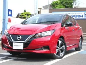 日産 リーフ X Vセレクション メモリーナビ付き 社有車アップ