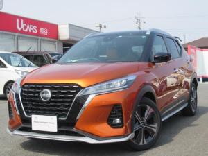 日産 キックス X ツートーンインテリアエディション 試乗車アップ