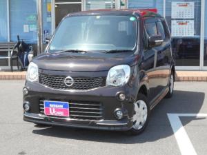 日産 モコ 660 X エアロスタイル 純正メモリーナビ・インテリジェントキー