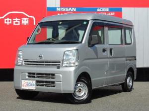 日産 NV100クリッパーバン 660 DX ハイルーフ 5AGS車 4WD