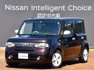 日産 キューブ 1.5 15X FOUR こもれびグリーンセレクション 4WD