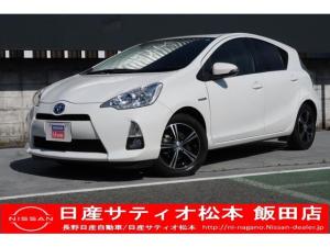 トヨタ アクア S 1.5 S  メモリーナビ付き