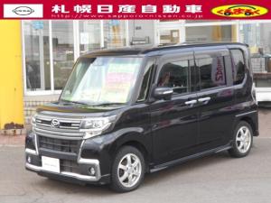 ダイハツ タント 660 カスタム X トップエディション SAIII 4WD ナビ・地デジ・Bカメラ・両側Pドアー