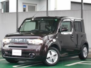 日産 キューブ 1.5 15X インディゴ +プラズマ 北九州日産モーター55周年設定車