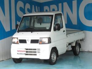 日産 クリッパートラック 660 DXエアコン付 4WD AMラジオ ワンオーナー パワステ