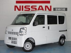 日産 NV100クリッパーバン 660 DX セーフティパッケージ ハイルーフ 5AGS車 AM/FMラジオチュ-ナ-