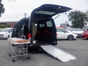 日産 NV200バネットバン  1.6 チェアキャブ 車いす2名仕様 未登録・広告宣伝等使用車両・ストレッチェー付き