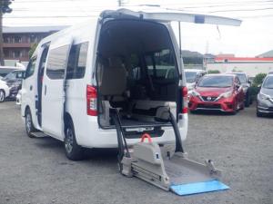 日産 NV350キャラバンバン 2.5 チェアキャブ 車いす1+1名仕様 輸送中損傷車・修理済み・8ナンバー
