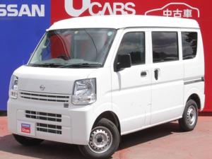 日産 NV100クリッパーバン 660 DX ハイルーフ 5AGS車 4WD A/M・F/Mラジオ パワーステアリング