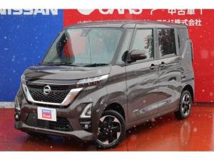 日産 ルークス 660 ハイウェイスターX 4WD 寒冷地仕様・純正ナビTV