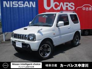 スズキ ジムニー ワイルドウインド 4WD 5MT CDチューナー シートヒーター リモコンキー シートヒーター