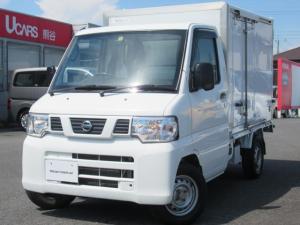 日産 NT100クリッパートラック 660 SD 冷蔵冷凍 -5℃設定 4WD