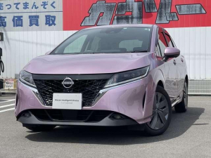 日産 ノート 1.2 X メーカーナビ・試乗車アップ