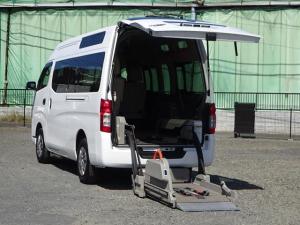 日産 NV350キャラバンバン 2.5 チェアキャブ 車いす2名仕様 ディーゼルターボ 4WD アラウンドビューM・エマージェンシーB