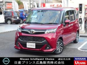 トヨタ タンク カスタムG 1.0 カスタム G ワンオーナー・ナビ・Bカメラ・追突防止