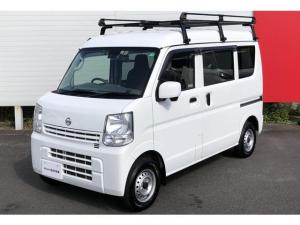 日産 NV100クリッパーバン DX GLパッケージ メーカー保証継承 1オーナー 車検整備付き 踏み間違い衝突防止アシスト(前進) リモコンキー パナソニック製カーナビ バックカメラ ETC ルーフキャリア ☆神奈川県外での登録・納車も承っております。