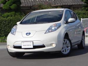 日産 リーフ S(30kwh) 30kWh S 夏タイヤ4本新品交換 11セグ