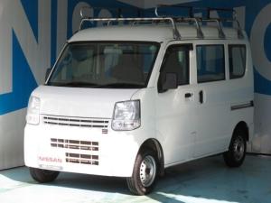日産 NV100クリッパーバン 660 DX ハイルーフ 5AGS車 ルーフキャリア 2nd発進機能